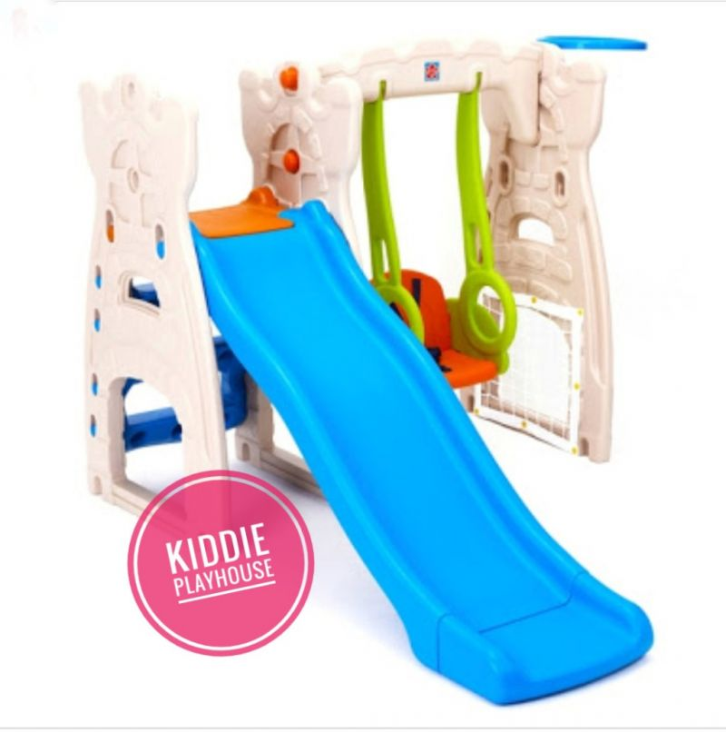 Grow N Up Scramble & Slide Swing Play Center
